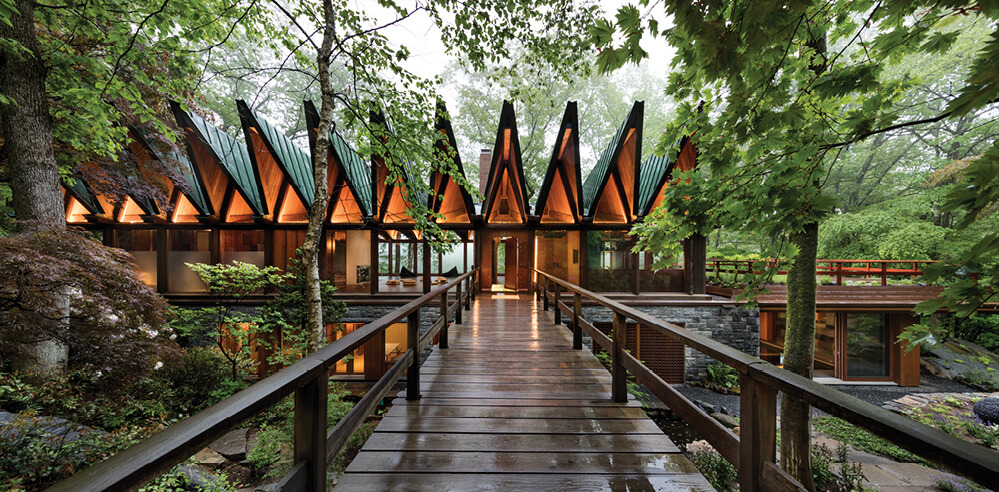 BarlisWedlick transforms a 1960s New York home into a private wellness retreat