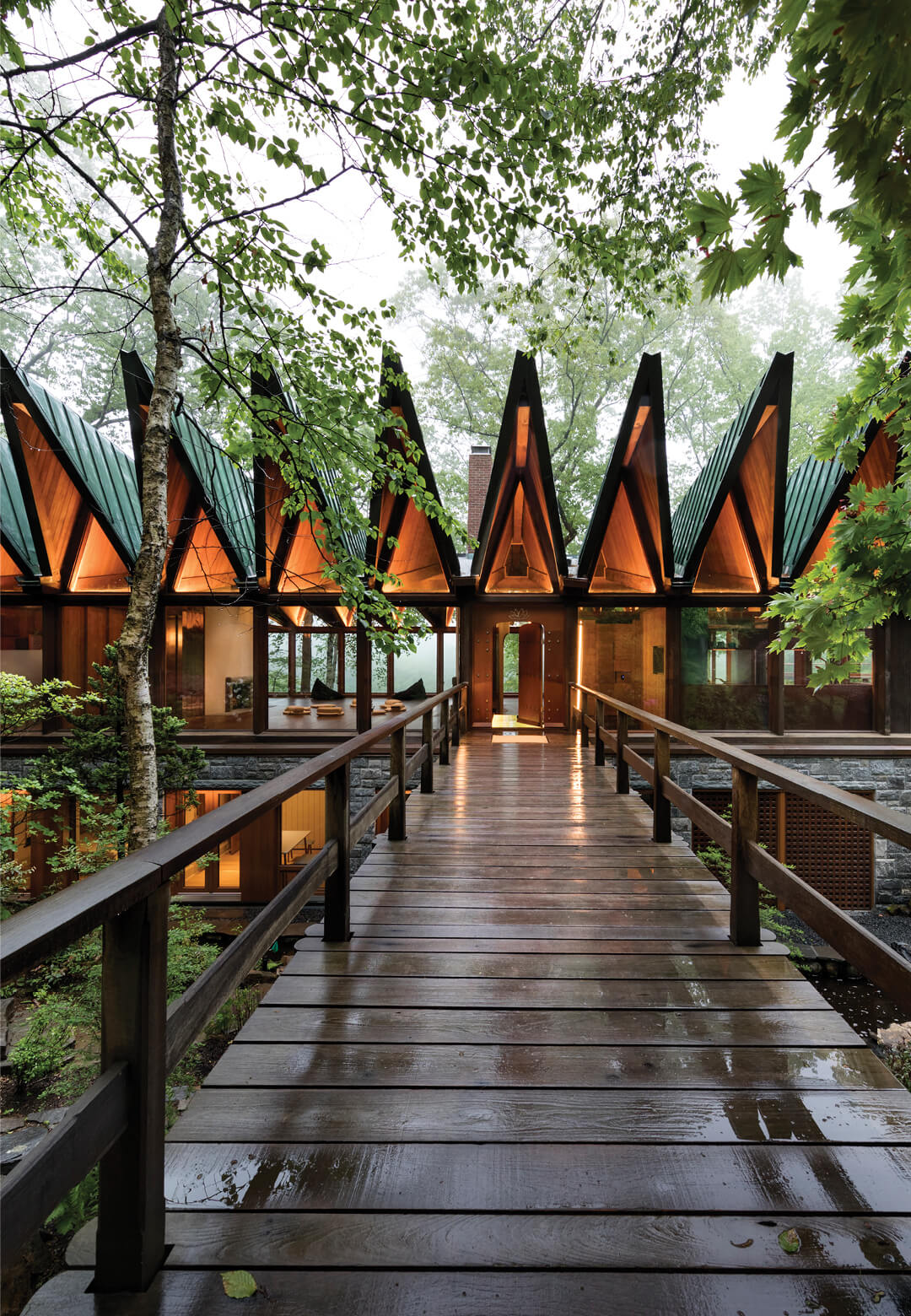 BarlisWedlick transforms a 1960's New York home, Beckoning Path into a private wellness retreat   Beckoning Path by BarlisWedlick Architects   STIRworld