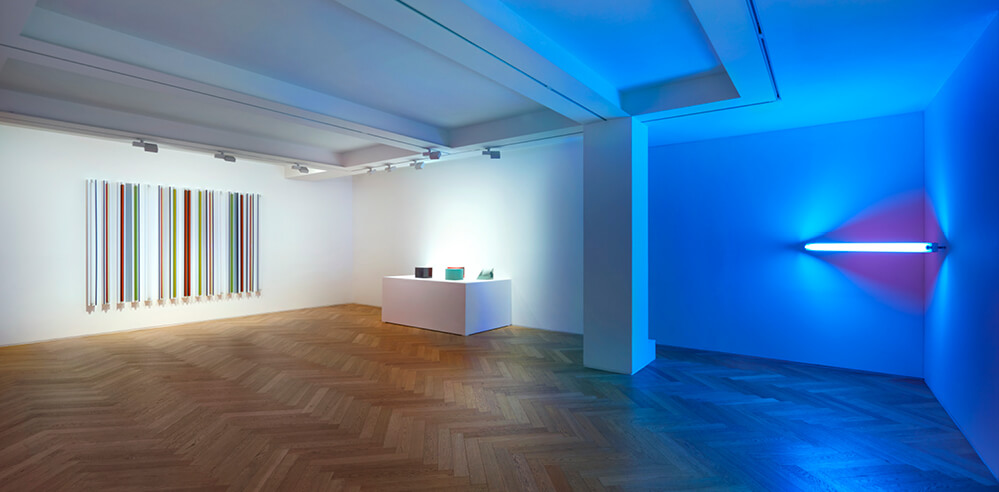 'Bending Light' at Pace Gallery pays homage to the Light and Space movement