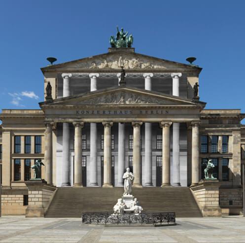 Bettina Pousttchi exhibits 'Amplifier' at Konzerthaus Berlin