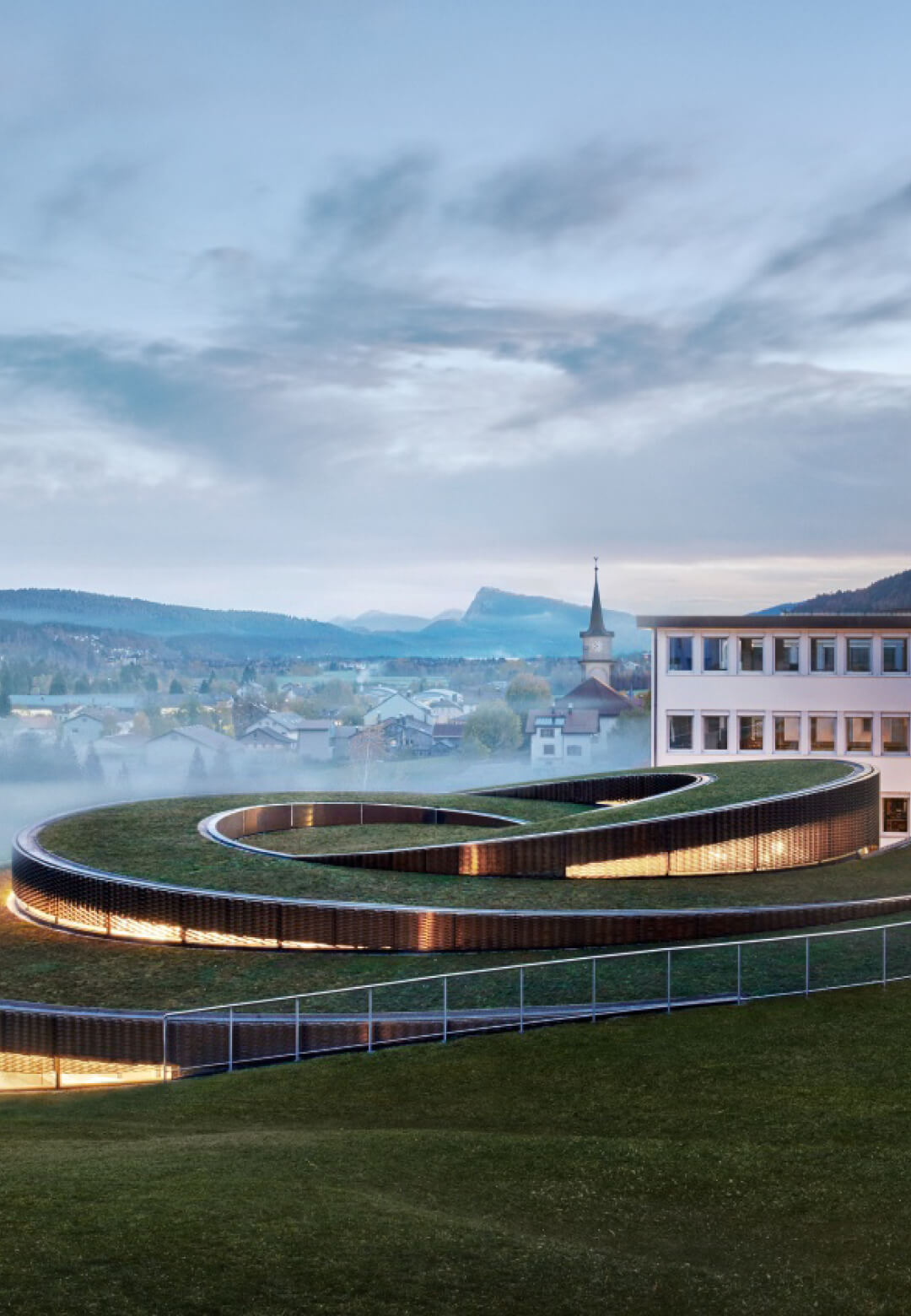Bjarke Ingels Group has designed the Musée Atelier Audemars Piguet in Switzerland | Bjarke Ingels Group builds Musée Atelier Audemars Piguet | STIRworld