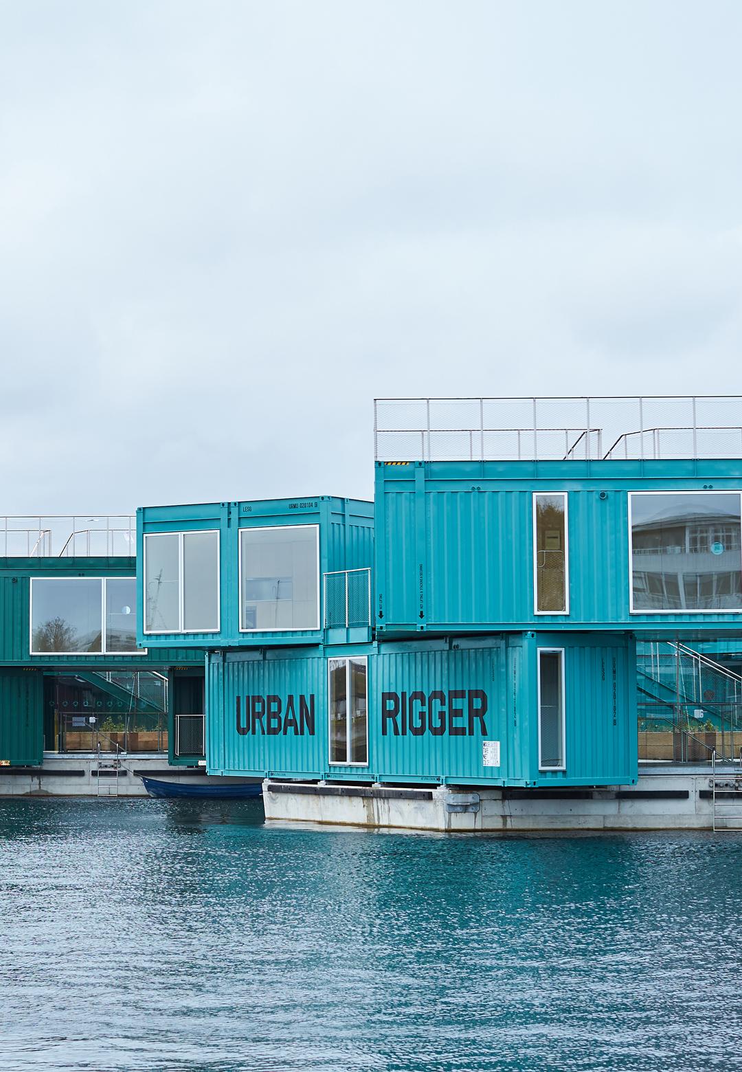 : Affordable student housing 'Urban Rigger' by BIG, in Copenhagen, Denmark | Urban Rigger student housing| BIG | STIRworld