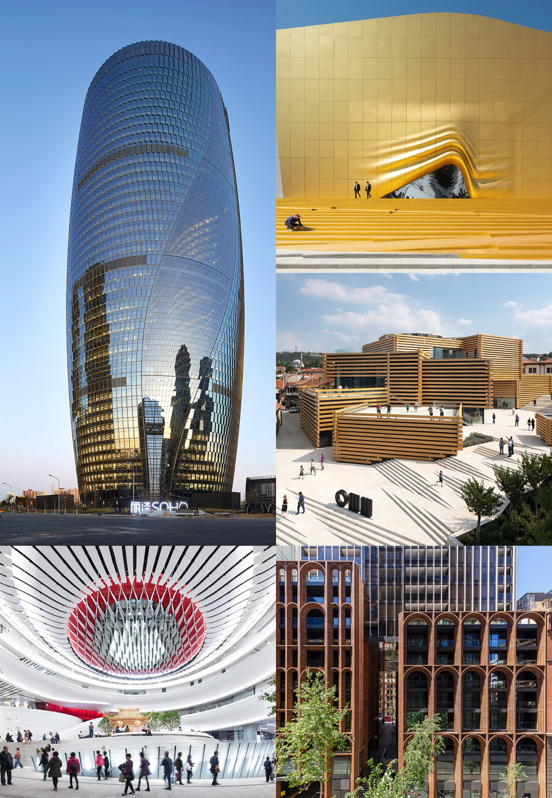 STIR picks striking building facades from 2019| Façade Round up 2019 | STIRworld