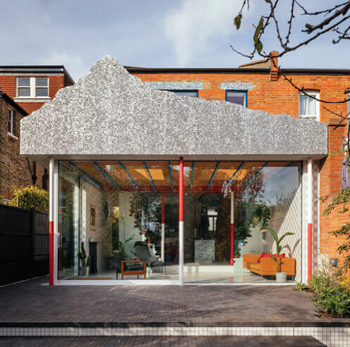 CAN turns a neglected structure into a family home with colour and character