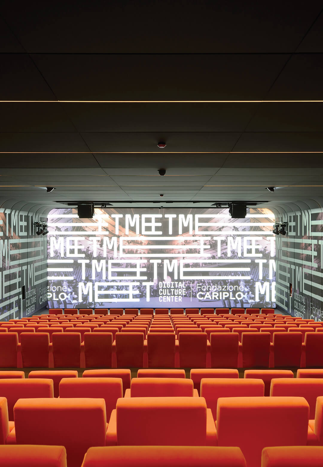 Auditorium inside MEET – a centre for digital culture, art and technology in Milan by CRA and Italo Rota | MEET | Milan | STIRworld