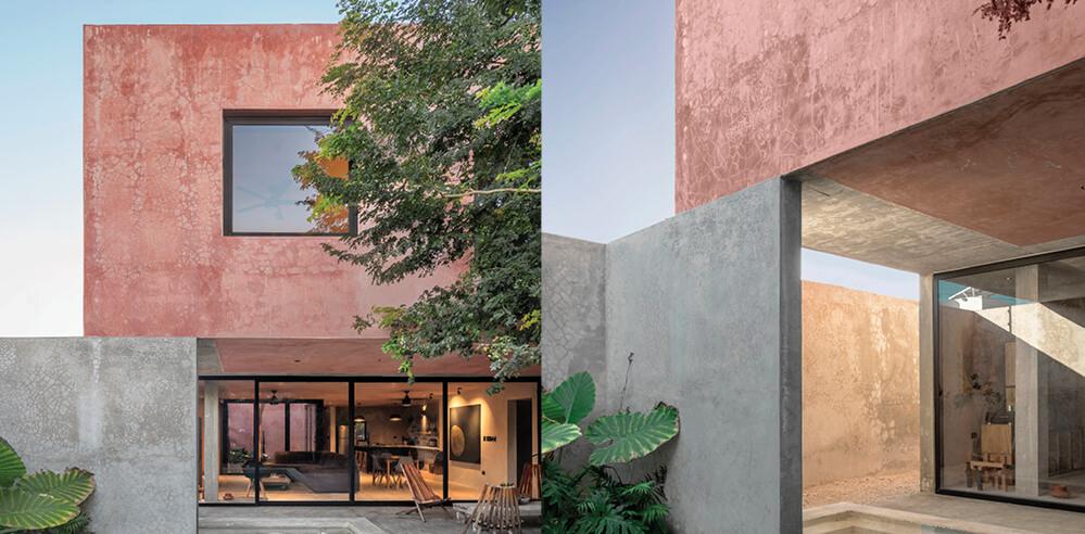 Casa Bugambilias by Taller Mexicano de Arquitectura revels in concrete lightness