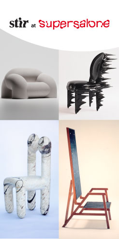 Chairs that were, chairs that are, the moment at Salone del Mobile Milano 2021