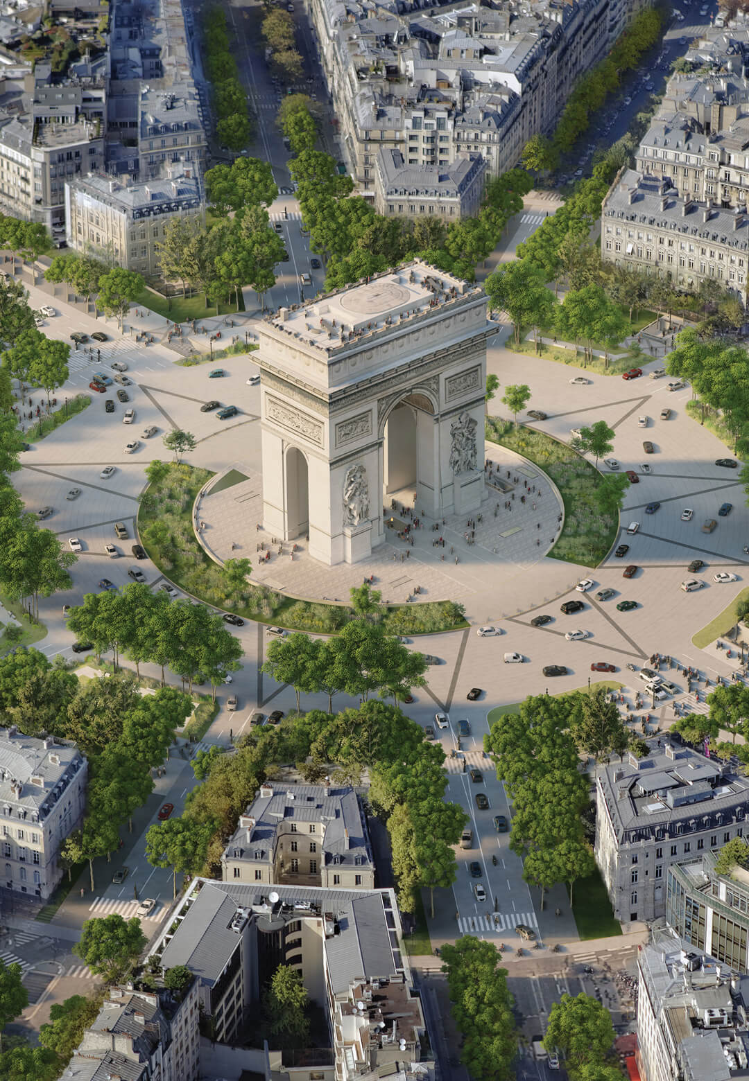 Anne Hidalgo, Mayor of Paris, announced that they would be going ahead with a transformative new scheme for the French capital's most famous avenue the Champs-Élysées | Champs-Élysées | Philippe Chiambaretta, PCA-STREAM | STIRworld