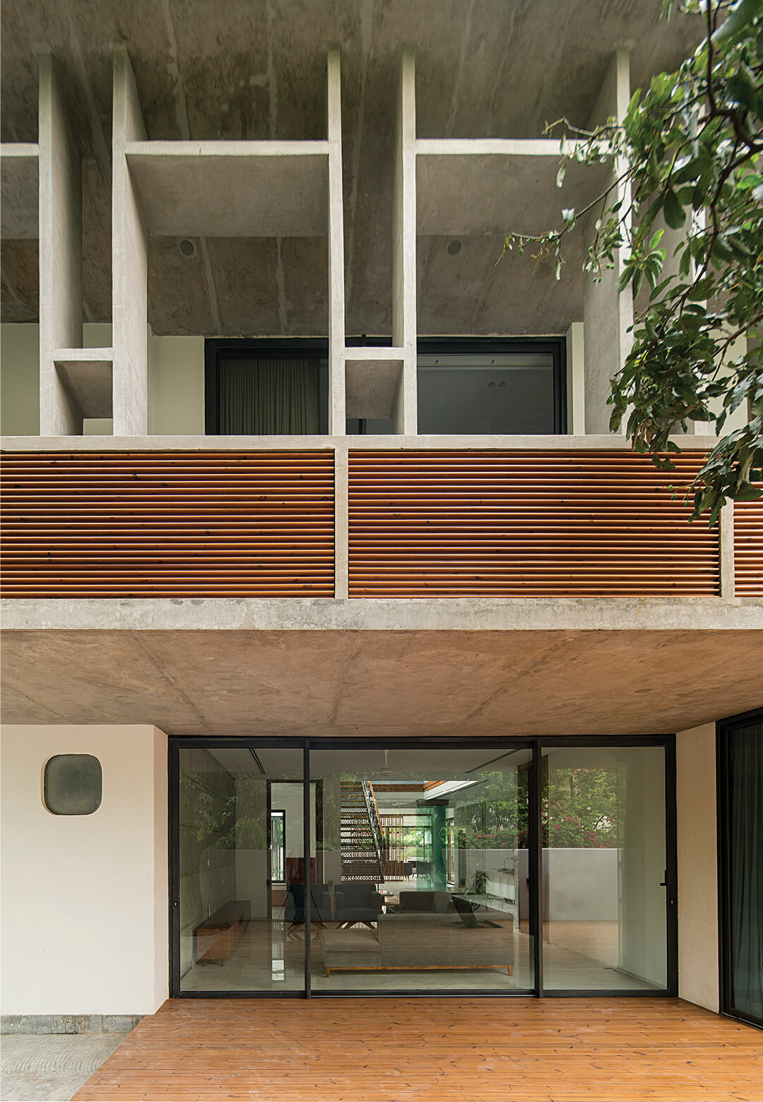 Exteriors of House 1065 in Chandigarh by Charged Voids | Charged Voids | Chandigarh, India | STIRworld