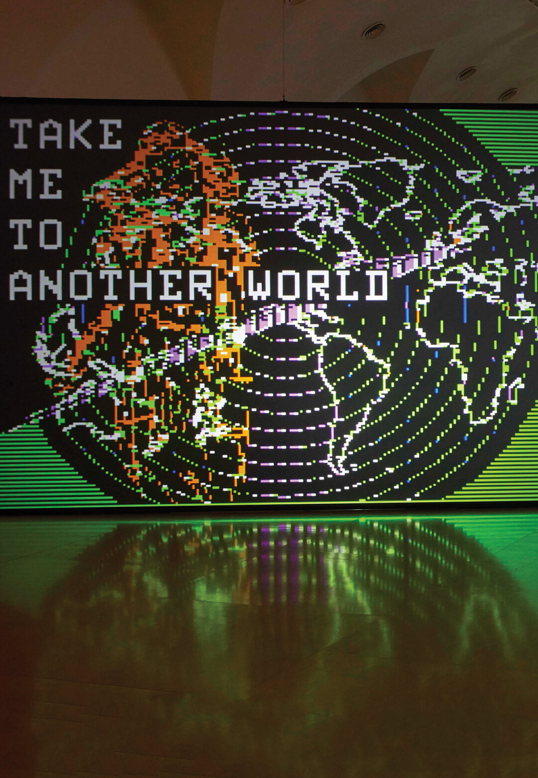 Installation view at Museo Reina Sofia | Take me to another world | Charlotte Johannesson | STIRworld