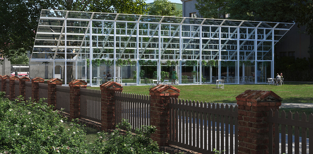 CHYBIK+KRISTOF to resurrect Gregor Mendel's greenhouse in Czech Republic