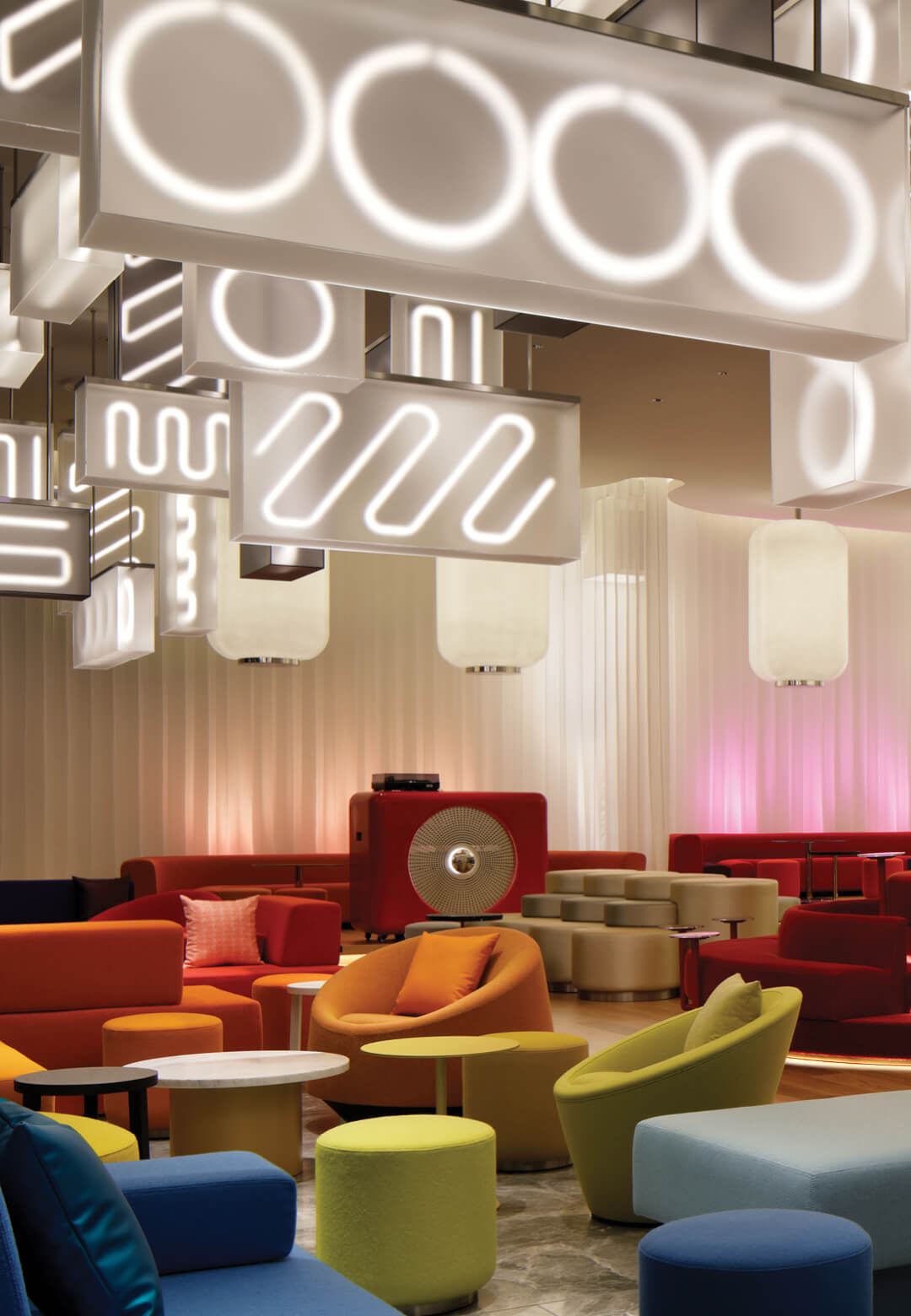 Amsterdam-based Concrete Architectural Associates has designed the interiors for the new W Hotel in Osaka, Japan   W Hotel Osaka by Concrete   STIRworld