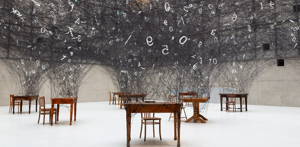 'Counting Memories' and looking within with Chiharu Shiota's installation in Poland