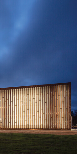 JKMM Architects designs Fyyri, a copper clad library for Kirkkonummi, Finland
