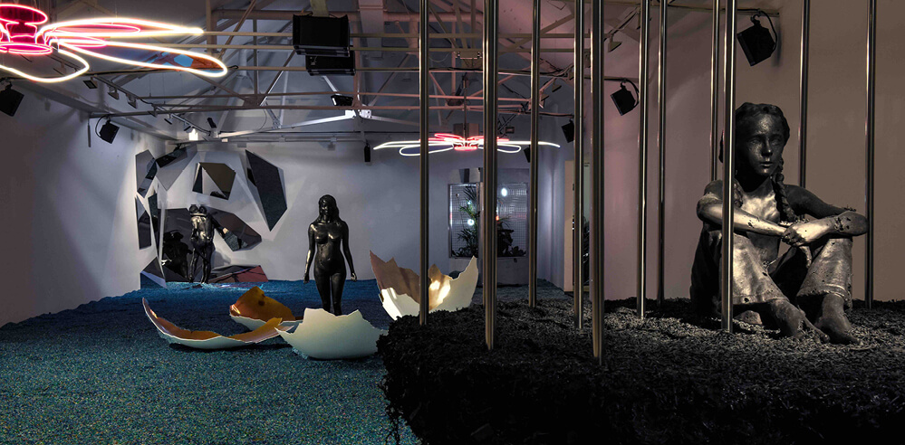Cyril de Commarque looks beyond the Anthropocene at Saatchi Gallery in London