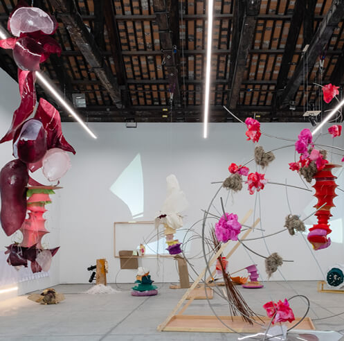 Daiga Grantina makes her solo debut in America at the New Museum