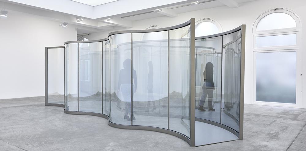 Dan Graham reveals his new pavilion at Marian Goodman Gallery Paris