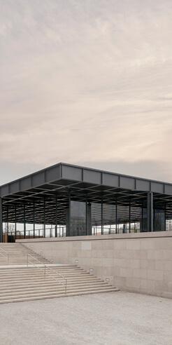 David Chipperfield restores Mies van der Rohe designed Neue Nationalgalerie, Berlin