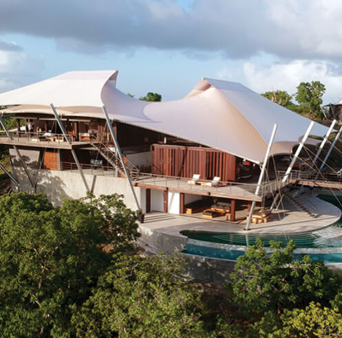 David Hertz's Sail House reveals nautical-themed architecture in the Caribbean
