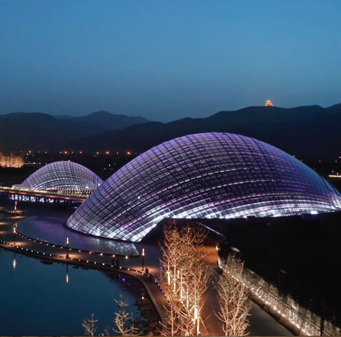 Delugan Meissl designs Taiyuan Botanical Garden with domed greenhouses in China