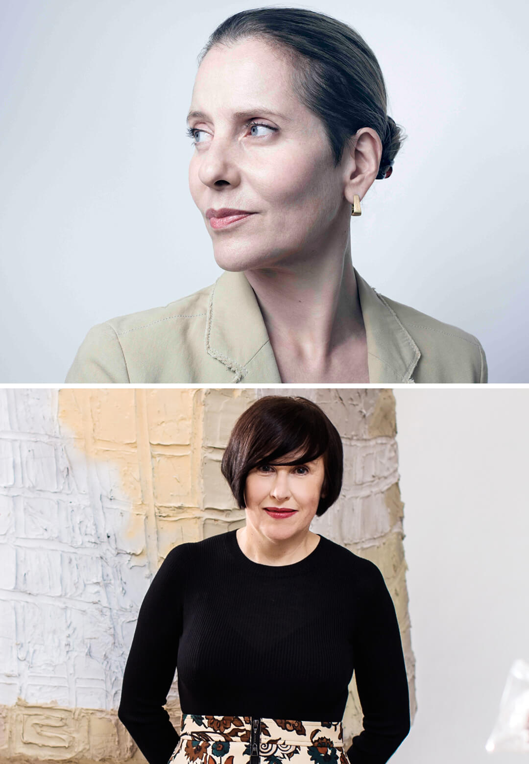 Curators of the Design Emergency Initiative – Left: Alice Rawsthorn, Right: Paola Antonelli | Alice Rawsthorn and Paola Antonelli | Design Emergency| STIRworld