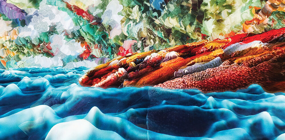 Distorted composites: a conversation with Ukrainian artist Demian Feriy
