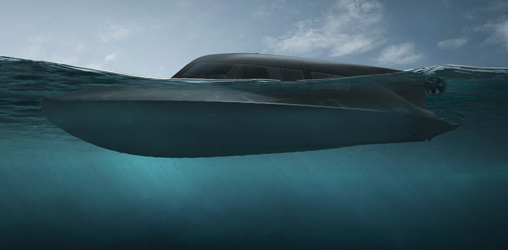 Dive in: Subsea Craft's hybrid surface craft and submersible for defence, VICTA