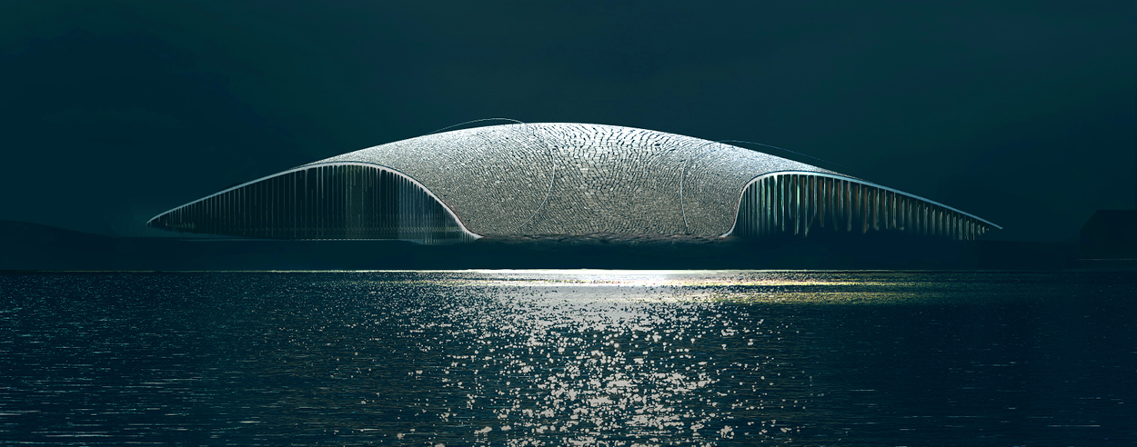 Dorte Mandrup to design The Whale, an Arctic attraction in Andøya, Norway