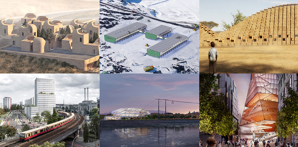 Projects on architectural drawing boards that STIRred 2019