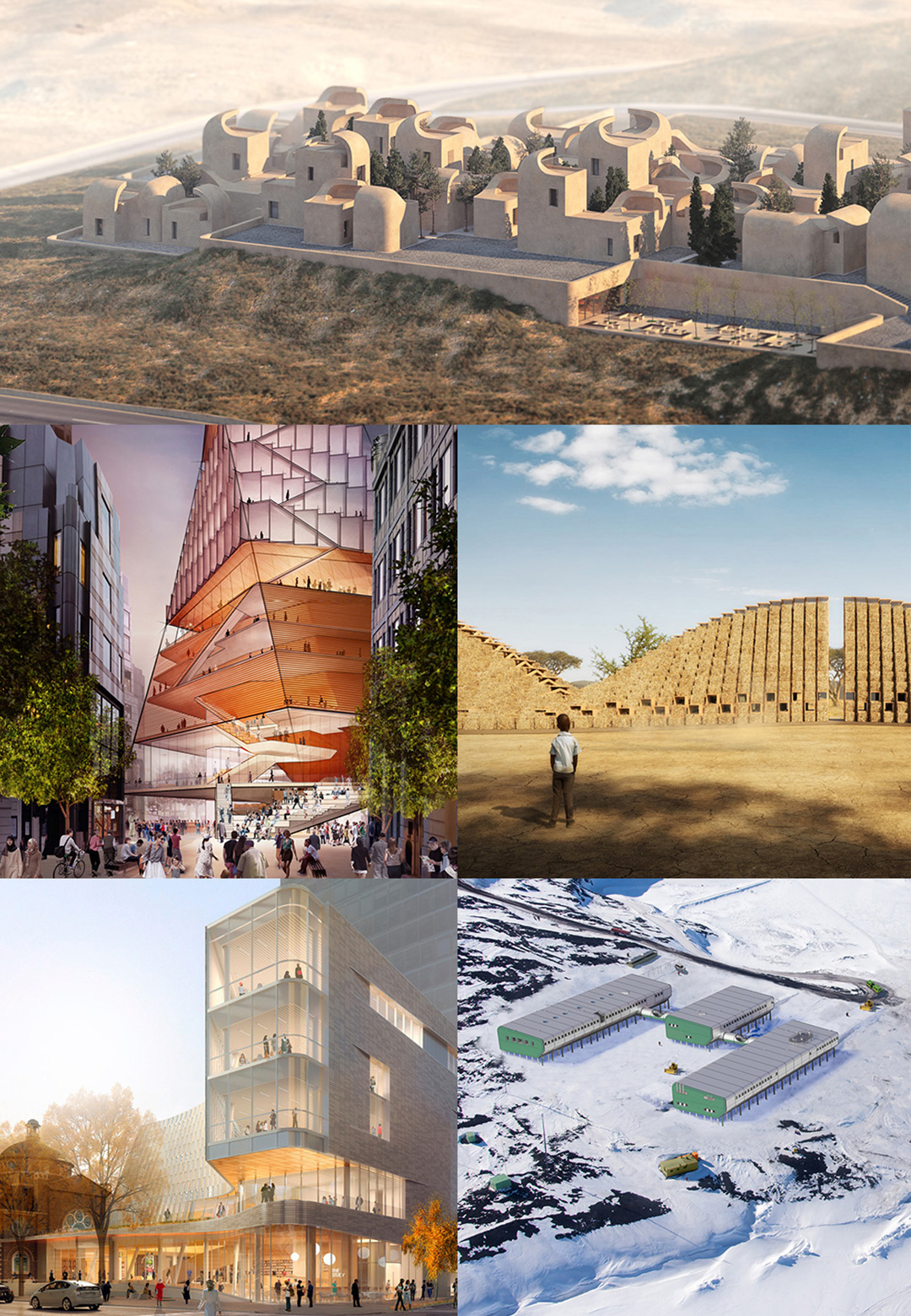 STIR's roundup of the top architecture projects of 2019 on the Drawing Board adhering ideas for a sustainable, modern and technologically advanced future  | Architecture | Drawing Board | STIRworld