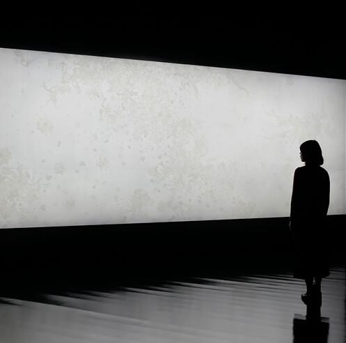 Dynamic installations by Shinji Ohmaki invite human sensorial experience