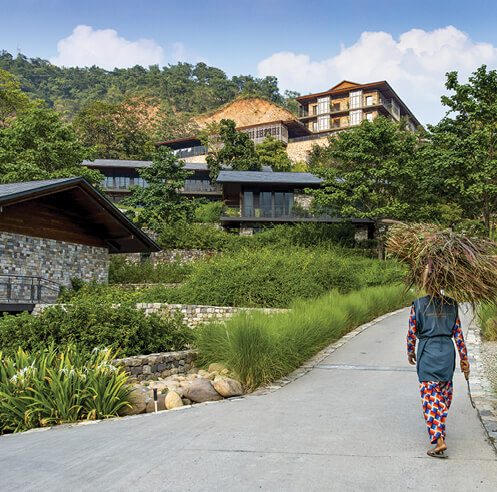 Edifice Consultants capture the spirit of Himalayan villages in Taj Rishikesh