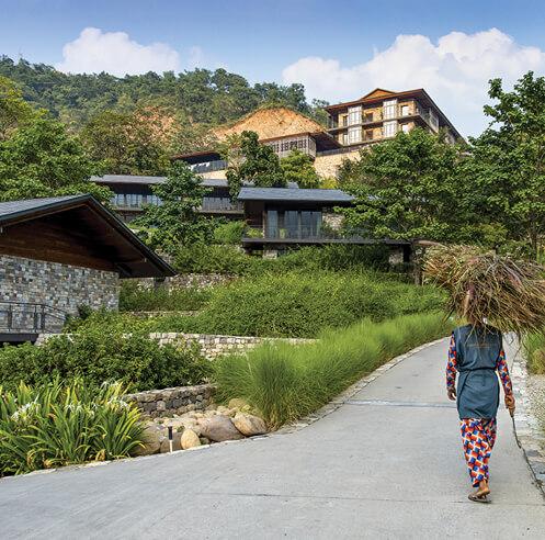 Edifice Consultants capture the spirit of Himalayan villages in Taj Rishikesh