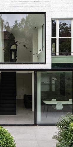 Edwards Rensen Architects turns a derelict Victorian house into a minimalist haven