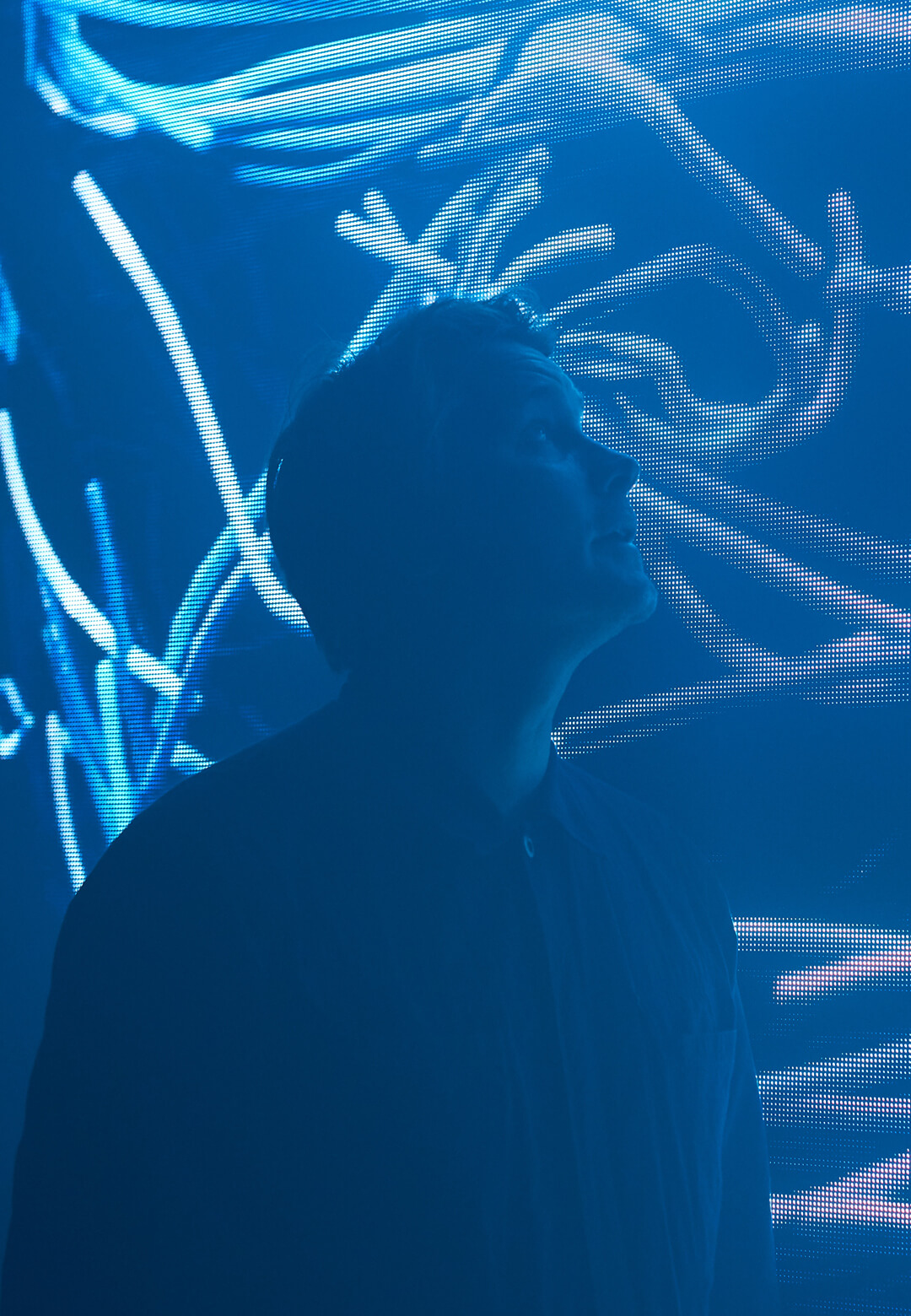 Smith & Lyall, show directors for The Chemical Brothers inside Got To Keep On (2019), an installation by The Chemical Brothers and Smith & Lyall | Electronic: From Kraftwerk to The Chemical Brothers | STIRworld