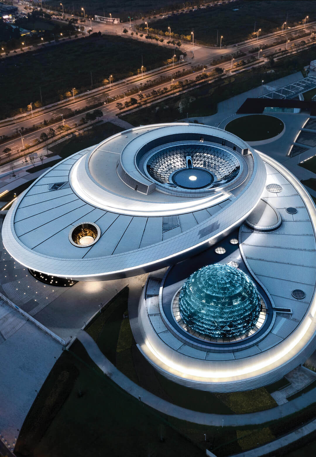 Shanghai Astronomy Museum by Ennead Architects is the largest astronomy museum in the world | Shanghai Astronomy Museum by Ennead Architects | STIRworld