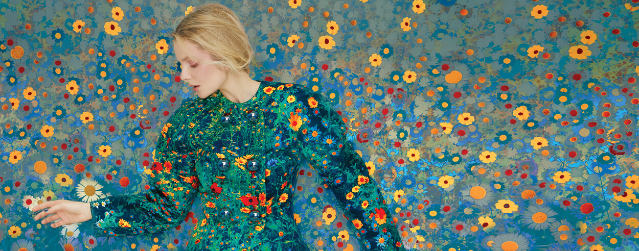 Erik Madigan Heck's exhibition 'The Garden' evokes the world of fantasy and purity
