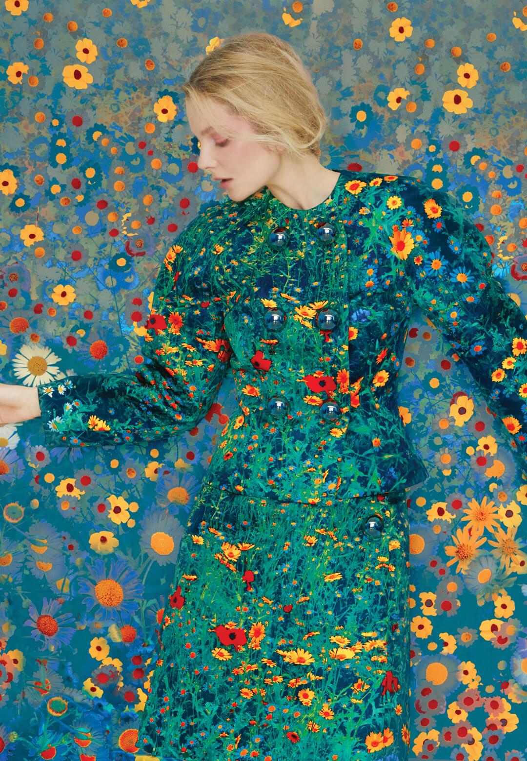 Eniko in Flowers | Erik Madigan Heck | STIRworld