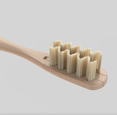 Everloop toothbrush by NOS comes with replacable bristles, lifespan of two years