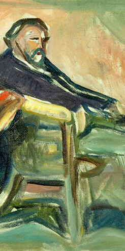 Exploring artist Edvard Munch's iconic works developed during the Spanish flu