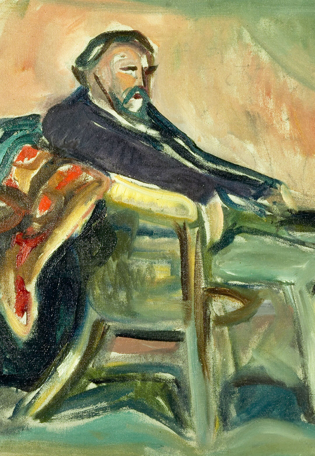 'Self-Portrait with the Spanish Flu' owned by Museum für Kunst und Kulturgeschichte der Hansestadt Lübeck | Munchmuseet | Edvard Munch | STIRworld