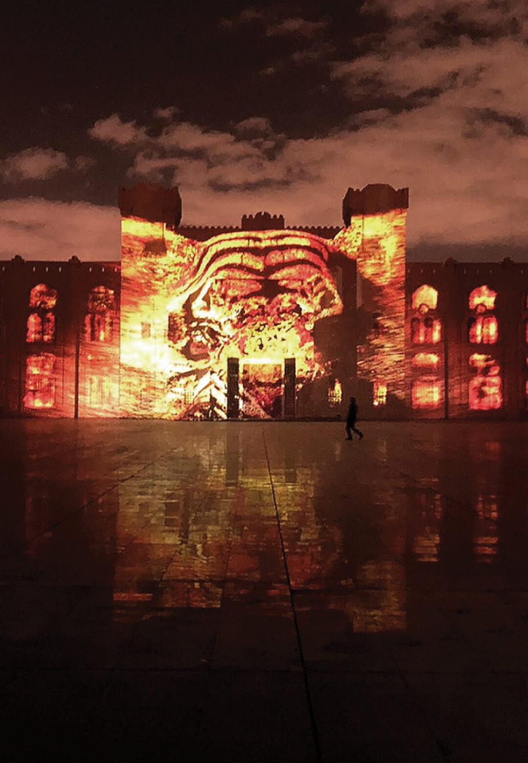 Jungle Book by Tigrelab at Sharjah Light Festival 2020 | Tigrelab| STIRworld