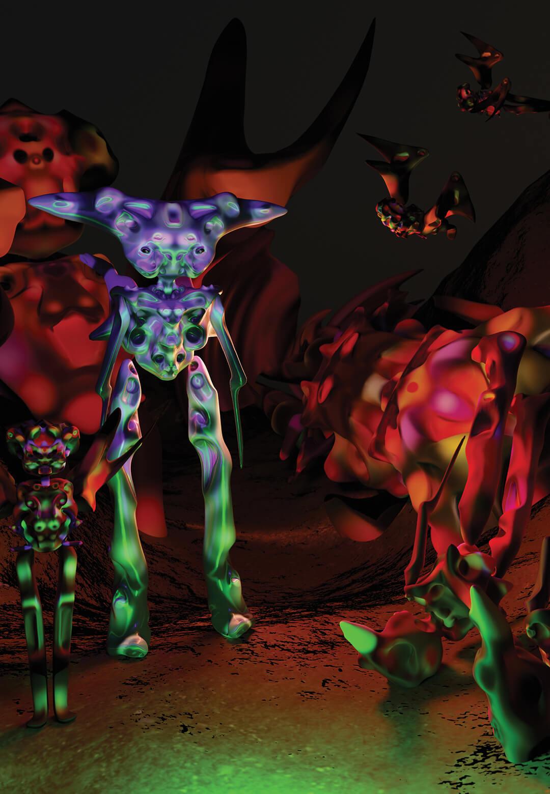 Arrival, a piece that typifies much of Massan's vivid artistry | Gabriel Massan | STIRworld