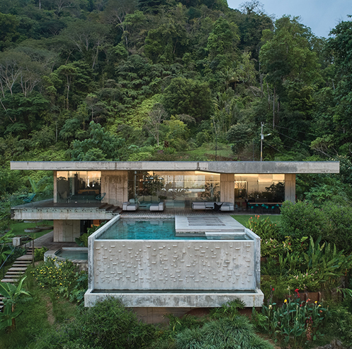 Formafatal and Refuel Works settle concrete Art Villa in a lush Costa Rican jungle