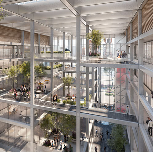 Foster + Partners commence work on ICÔNE, a new office building in Luxembourg
