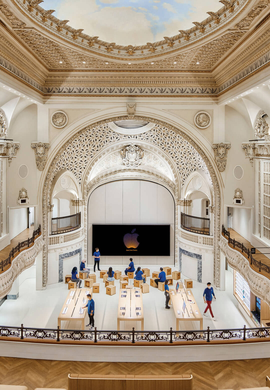 Apple opens doors to its 26th store in greater Los Angeles   Apple Tower Theatre   Fosters + Partners   STIRworld