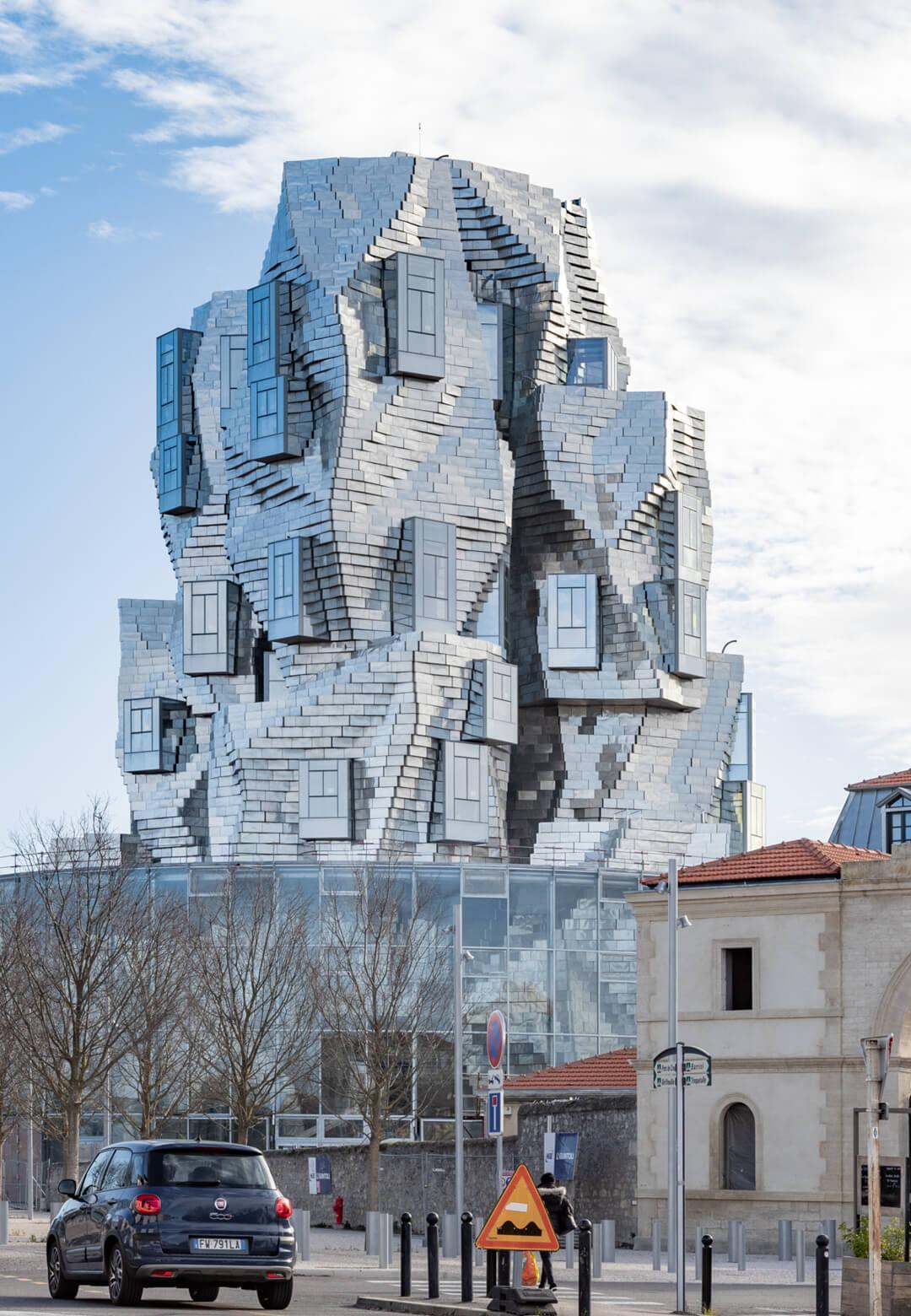 Frank Gehry's Luma tower is the centre piece of the Luma Arles development as an Arts Centre in Arles, France | Luma Towers | Frank Gehry | STIRworld