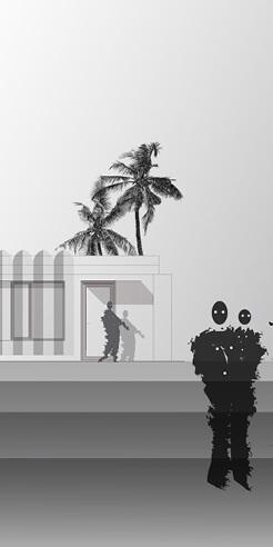 Francesca Perani's gender neutral cut-outs celebrate inclusivity in digital renderings