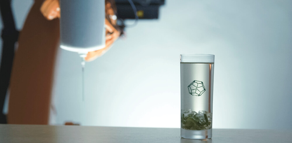 Generative design X gastronomy: Your next drink at the bar may be 3D printed