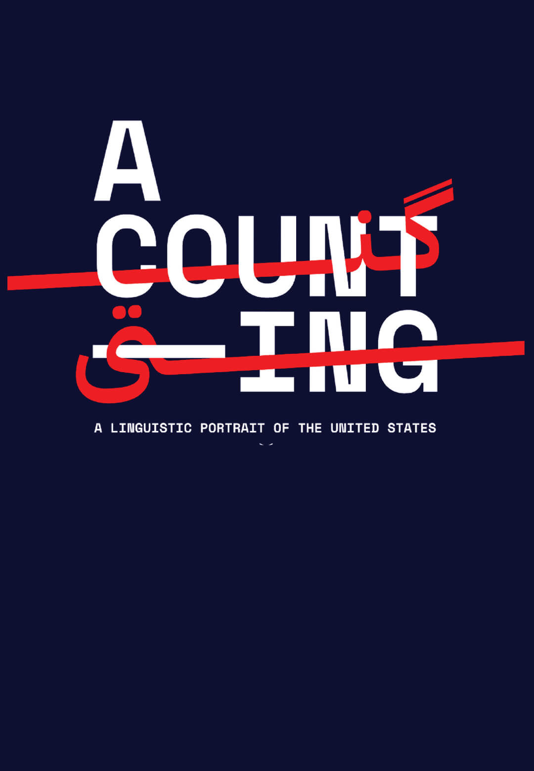 A Counting: A linguistic portrait of the United States | Ekene Ijeoma and Poetic Justice at MIT Media Lab | STIRworld